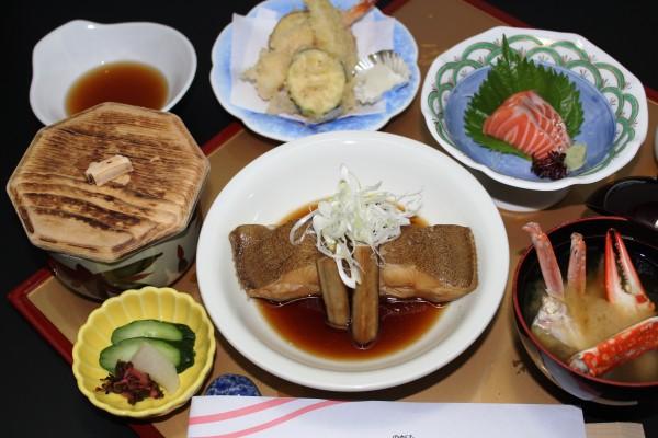 カレイの煮付け(天婦羅・刺身)
